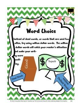 Word Choice Lesson Grades 2-5