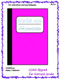 Interactive Notebook: Words and Phrases RL 2.4 Second Grade