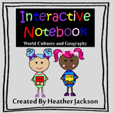 Interactive Notebook - World Cultures and Geography