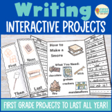 Interactive Notebook: Writing (First Grade)