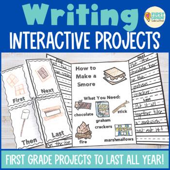 Writing Interactive Notebook First Grade