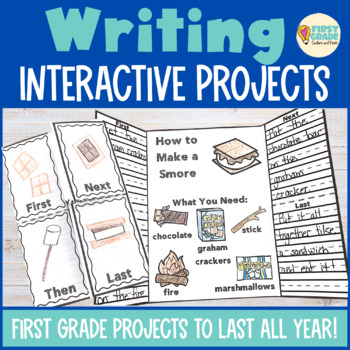Interactive Writing Notebook First Grade