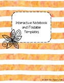 Interactive Notebook and Foldable Templates