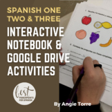 Interactive Notebook and Google Drive Activities for Spani