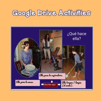 Interactive Notebook and Google Drive Activities for Spanish One Two and Three
