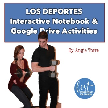 Interactive Notebook and Google Drive Activities for Spanish Sports Vocabulary