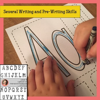 Interactive Notebook and Lapbook for Letters VOWELS ONLY