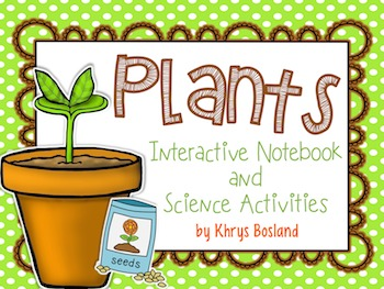 Interactive Notebook and Science Activities {Plants and Fl