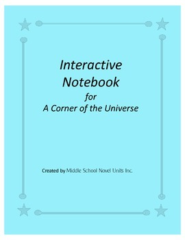 Interactive Notebook for A Corner of the Universe