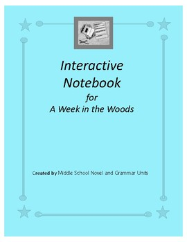 Interactive Notebook for A Week in the Woods