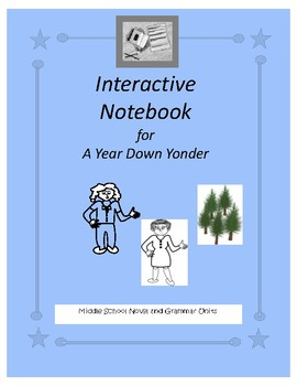 Interactive Notebook for A Year Down Yonder