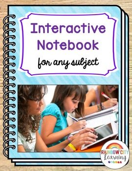 Interactive Notebook for Any Subject