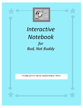 Interactive Notebook for Bud, Not Buddy