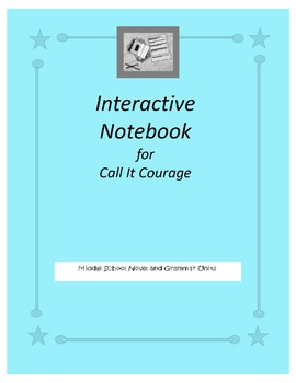 Interactive Notebook for Call It Courage