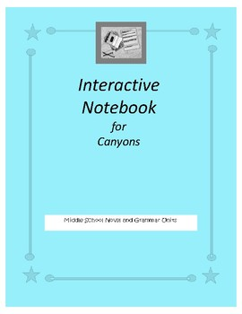 Interactive Notebook for Canyons