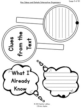 Close Reading Bundle Interactive Notebook 5th Grade Literature Informational