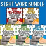 Sight Words Interactive Notebook Bundle