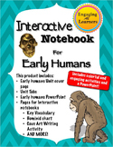 Interactive Notebook for Early Humans Unit