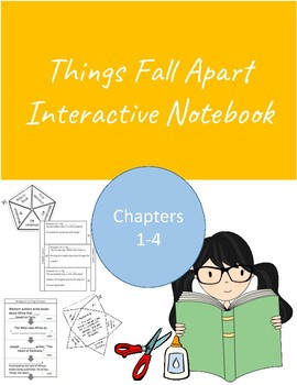Interactive Notebook for English Literature- Things Fall Apart Chapters 1-4