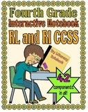 Interactive Notebook, Fourth Grade (RL and RI CCSS)