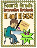 Interactive Notebook, Fourth Grade (RL and RI CCSS)