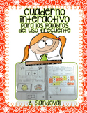 Interactive Notebook for High Frequency Words in Spanish palabras del uso