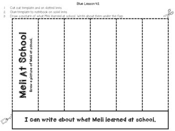 Interactive Notebook Leveled Literacy Intervention LLI Blue Level G 1st Edition