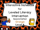 Interactive Notebook for Leveled Literacy Intervention LLI Orange A 2nd Edition