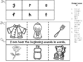 Interactive Notebook for Leveled Literacy Intervention LLI Orange B 2nd Edition