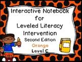 Interactive Notebook for Leveled Literacy Intervention LLI Orange C 2nd Edition