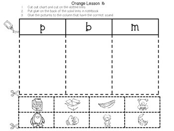 Interactive Notebook for Leveled Literacy Intervention LLI Orange Level A