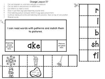 Interactive Notebook for Leveled Literacy Intervention LLI Orange Level C