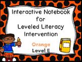 Interactive Notebook for LLI Orange Level E 1st Edition