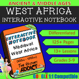 Interactive Notebook for Middle Ages Africa (Ancient Afric
