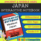 Interactive Notebook for Middle Ages Japan (Medieval Japan