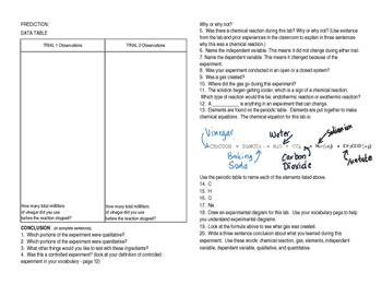 Interactive Notebook for Quantitative vs. Quantitative Lab