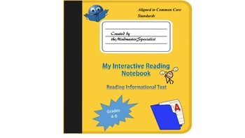 Interactive Notebook for Reading Informational Text