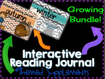 Interactive Notebook for Reading Themed Supplements {Growi