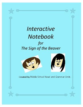 Interactive Notebook for The Sign of the Beaver