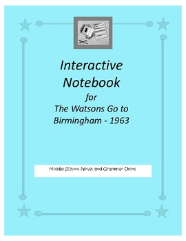 Interactive Notebook for The Watsons Go to Birmingham 1963