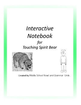 Interactive Notebook for Touching Spirit Bear