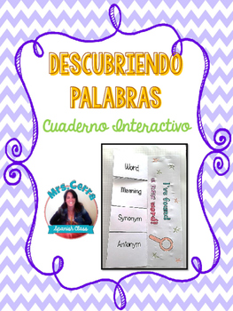 {FREE} Interactive Notebook for introducing new vocabulary {ESPAÑOL}