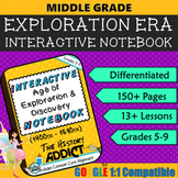 Interactive Notebook for the Age of Exploration & Discovery ~ Common Core 5-9