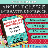 Interactive Notebook for the Ancient Greece ~ Common Core 5-9