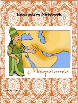 Interactive Notebook handouts Mesopotamia
