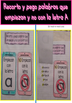 Interactive Notebook in Spanish - Instruction Set