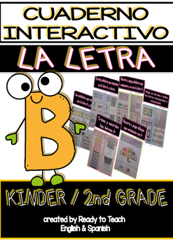 Interactive Notebook in Spanish - Letter B