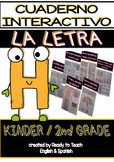 Interactive Notebook in Spanish - Letter H