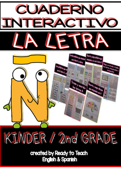 Interactive Notebook in Spanish - Letter Ñ