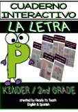Interactive Notebook in Spanish - Letter P